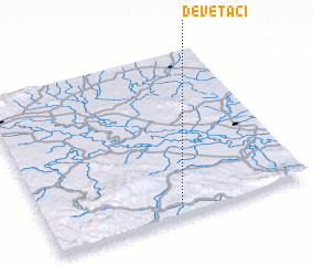 3d view of Devetaci