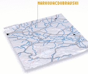 3d view of Markovac Dubravski