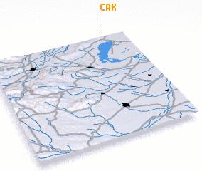 3d view of Cák