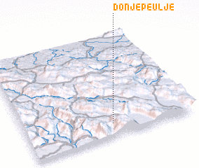 3d view of Donje Peulje