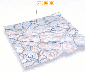 3d view of Stevanići