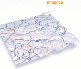 3d view of Podgora