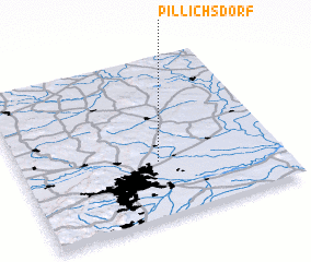 3d view of Pillichsdorf