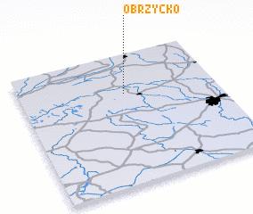 3d view of Obrzycko