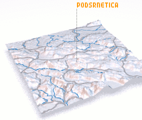 3d view of Podsrnetica