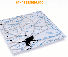 3d view of Hahnseesiedlung