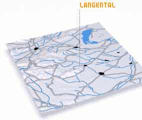 3d view of Langental