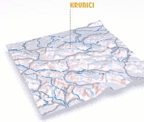 3d view of Krunići