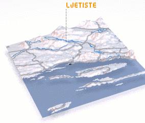 3d view of Ljetište