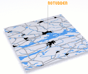 3d view of Notudden