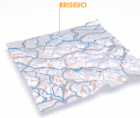 3d view of Briševci