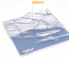 3d view of Bandići
