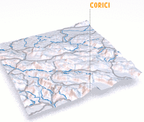 3d view of Corići