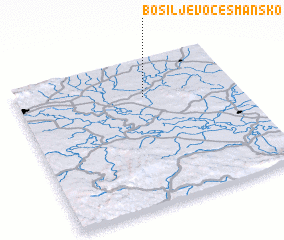 3d view of Bosiljevo Česmansko