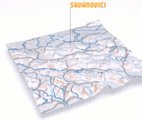 3d view of Savanovići