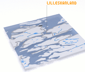 3d view of Lille Skånland