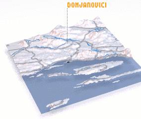 3d view of Domjanovići