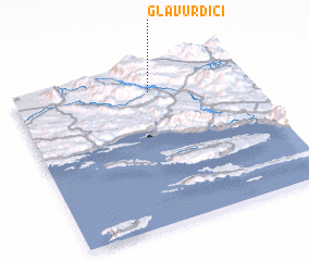 3d view of Glavurdići