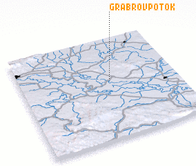 3d view of Grabrov Potok