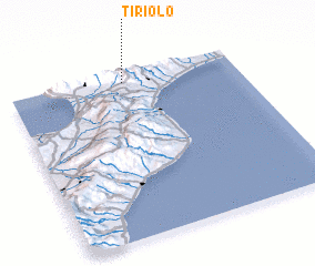 3d view of Tiriolo