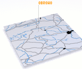 3d view of Obrowo