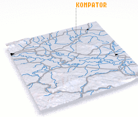3d view of Kompator