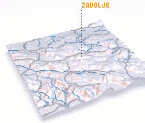3d view of Zavolje