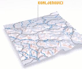 3d view of Komljenovići