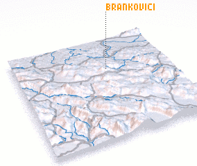 3d view of Brankovići