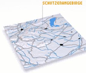 3d view of Schützen am Gebirge