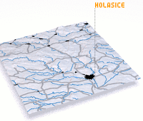 3d view of Holasice