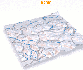 3d view of Babići