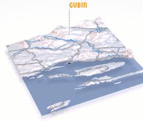 3d view of Gubin