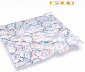 3d view of Resanovača