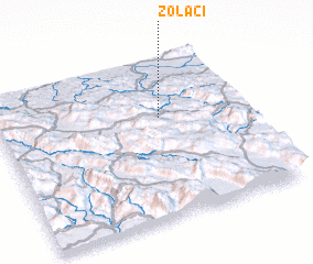 3d view of Zolaći