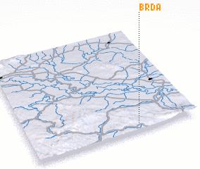 3d view of Brda