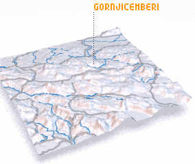 3d view of Gornji Čemberi