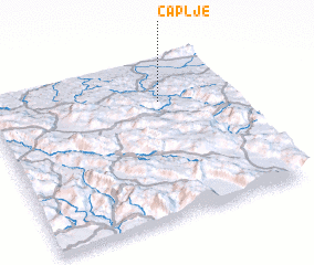 3d view of Čaplje