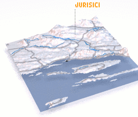 3d view of Jurišići