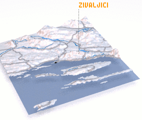 3d view of Živaljići