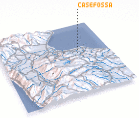 3d view of Case Fossa