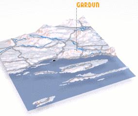 3d view of Gardun
