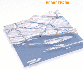 3d view of Podastrana