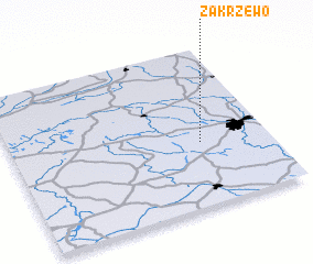3d view of Zakrzewo