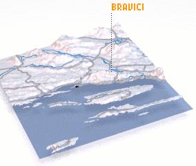 3d view of Bravići