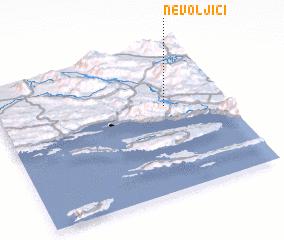 3d view of Nevoljići