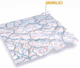 3d view of Gromilići