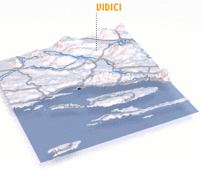 3d view of Vidići