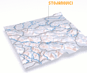 3d view of Stojanovići