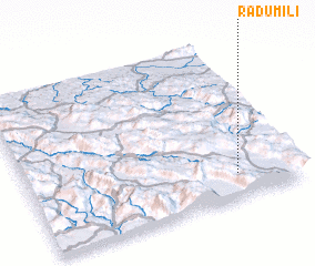 3d view of Radumili